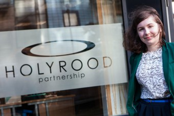 Holyrood PR in Edinburgh intern Lucy