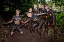 Our Total PR Warriors, took to the 12km cross country race; over coming pits of thick mud, fire jumps, and endless climbs.
