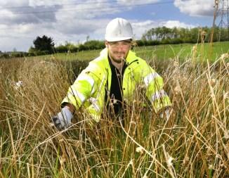 Banks - Glenboig Site Investigation, Russell Goodchild of Heritage Envir...