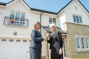 A new partnership with CALA Homes has allowed show homes at Murieston Gait to be furnished by the latest products from and Livingston Designer Outlet.