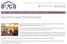 PR coverage for Bupa care homes in SYCS website