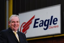 Eagle Couriers Jerry Stewart Holyrood PR in Edinburgh