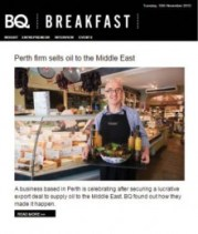 Holyrood PR edinburgh coverage food and drink public relations