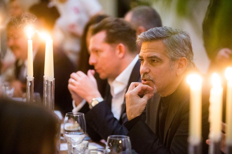 Food and drink PR for Tigerlily amid George Clooney visit