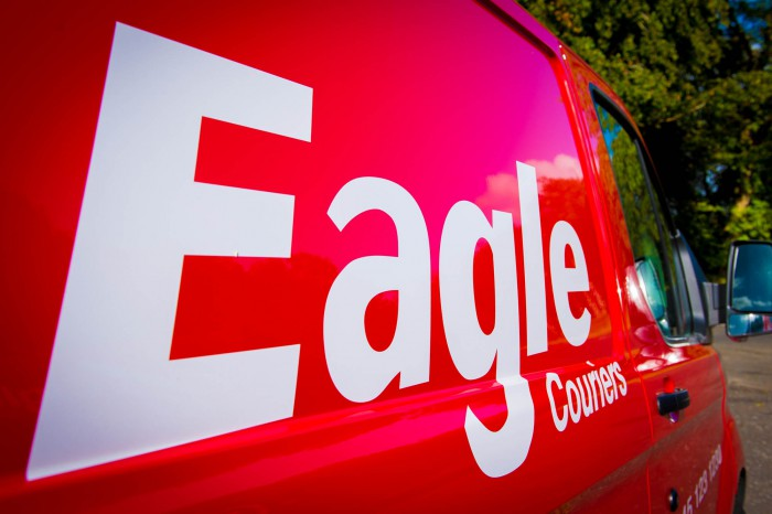 Eagle Couriers Holyrood Business PR in Edinburgh