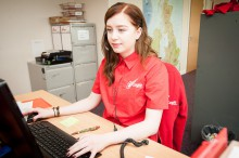 Bathgate MP officialy opens Eagle Couriers new nest