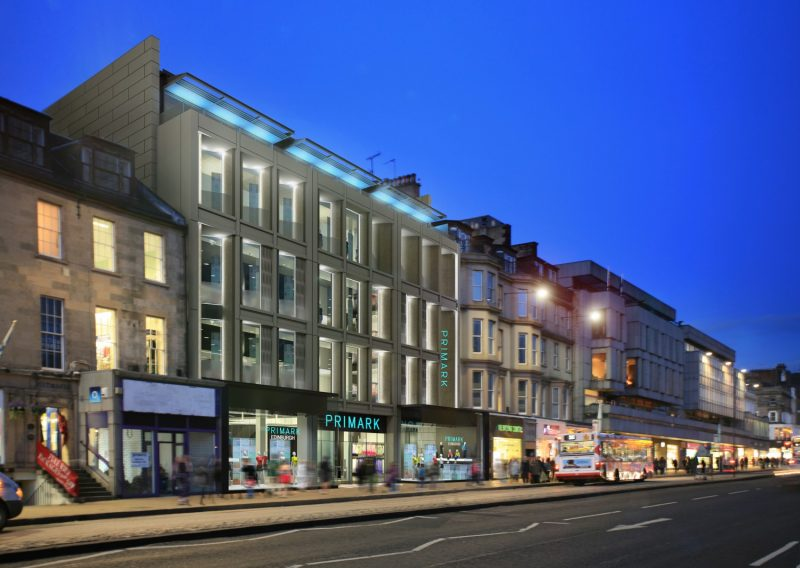 Artist's impression of Primark store in Edinburgh