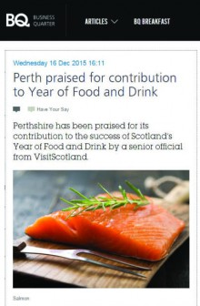 IIP Perth Food and Drink coverage in BQ Live
