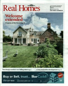 Front Page of Real Homes - Gilson Gray Country House, Cotlands House