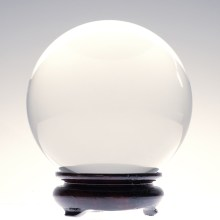 The kind of crystal ball used by fortune tellers
