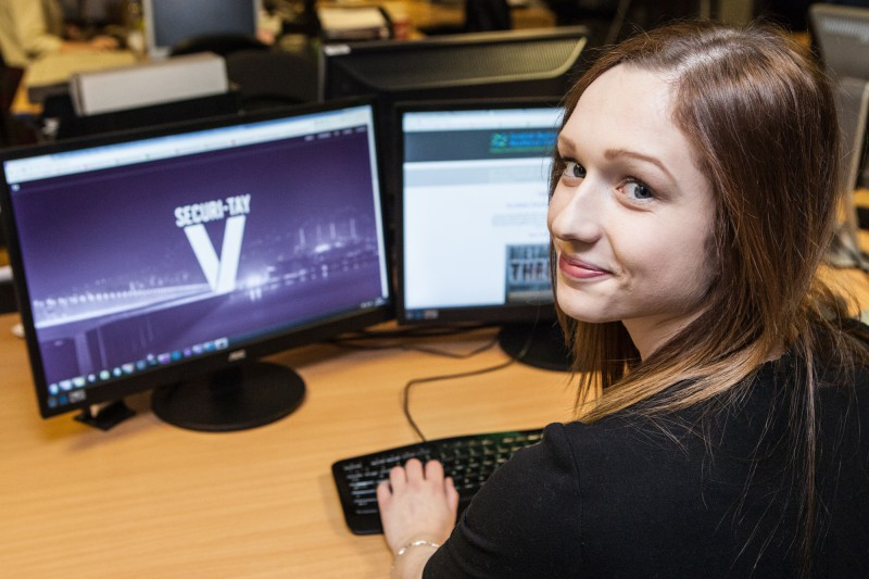 "A first female ""ethical hacker"" has been recruited by SBRC"