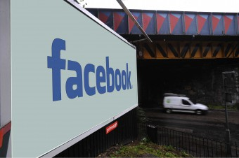 Facebook billboard