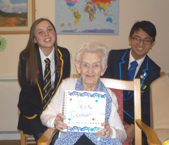 Glasgow Students Visit Bupa's Eastbank Care