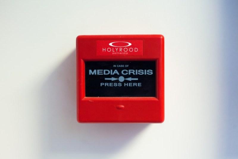 Crisis Media Alarm