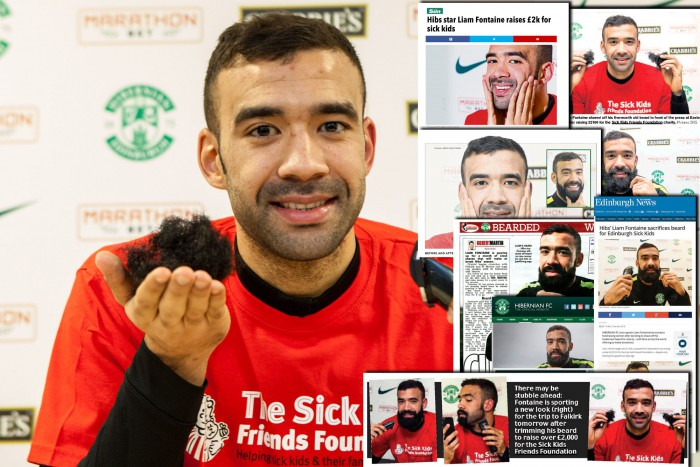 LIAM FONTAINE Beard Shave