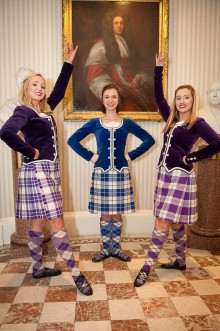 Kirsty Luke, Jordanne Currie & Gillian McCloskey of Angela Forsyth Dancers