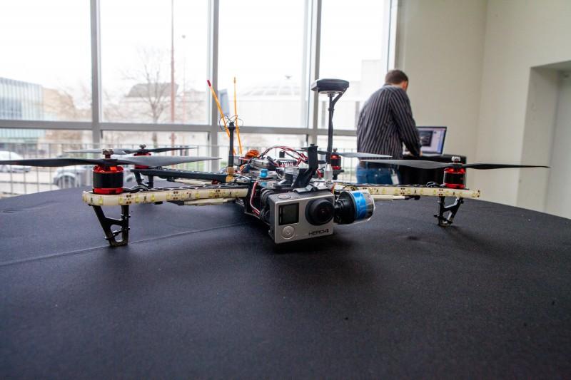 SBRC unveil Snoopy the drone