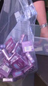 Edinburgh PR Agency raise awareness of fake condom raid