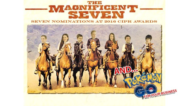 Magnificent Seven montage for award winning PR agency