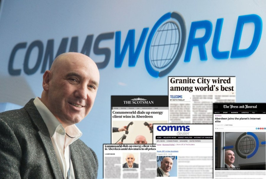 PIC PHIL WILKINSON  info@philwilkinson.net www.philwilkinson.net 01316186373 - 07740444373 Scotsman business interview pics. Ricky Nicol , Chief Executive of the telecoms company Commsworld.