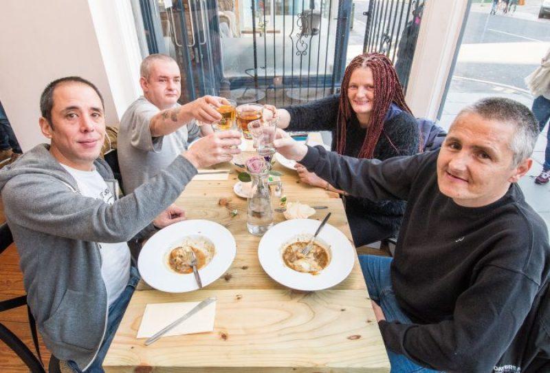 Restaurant PR photographs at Maison Bleue
