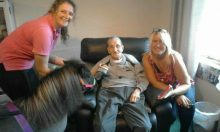 Pony Visits Care Home from Scottish PR Consultants