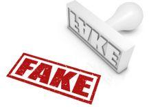 Social Media PR Tips Fake News Stamp