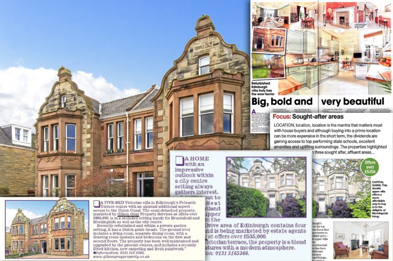 Polwarth Terrace Gilson Gray Coverage