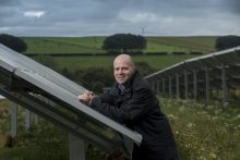 New solar panels at Mackie's of Scotland - food and drink PR.