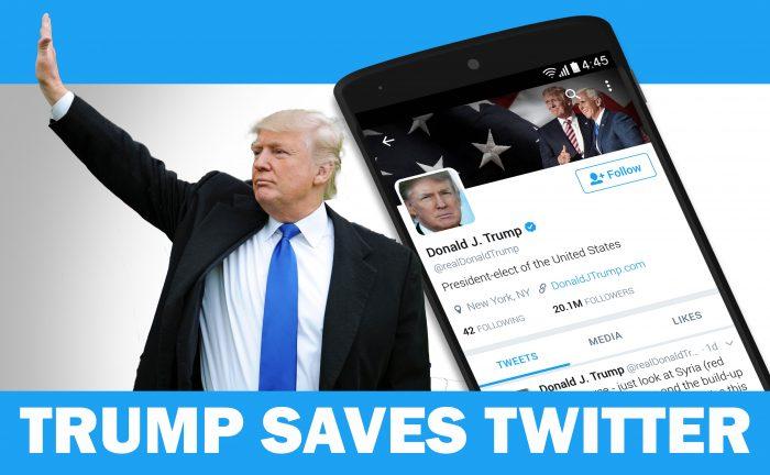 Donald Trump Twitter Digital PR