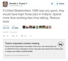 Donald Trump Tweets and Digital PR
