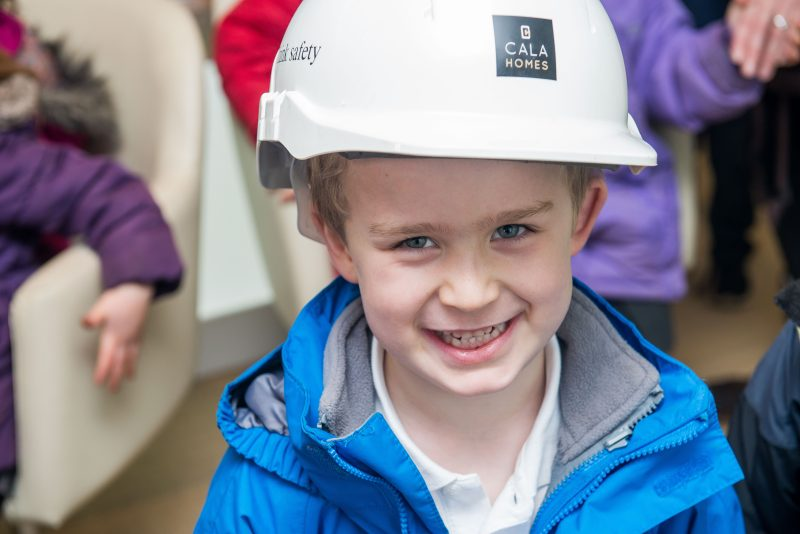 Close-up PR Photos of one of the kids from Ratho Primary School