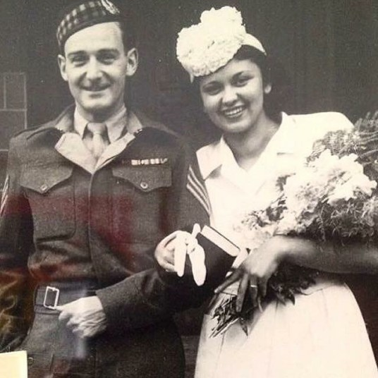 Wartime sweethearts celbrate 71st Valentine's Day Together