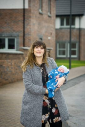 PR Photography shows Louise Inglis and her baby Brodie
