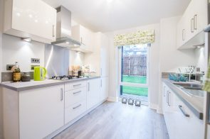 The Kitchen Dalmeny Park Apartments, South Queensferry is captured by PR Photgraphy