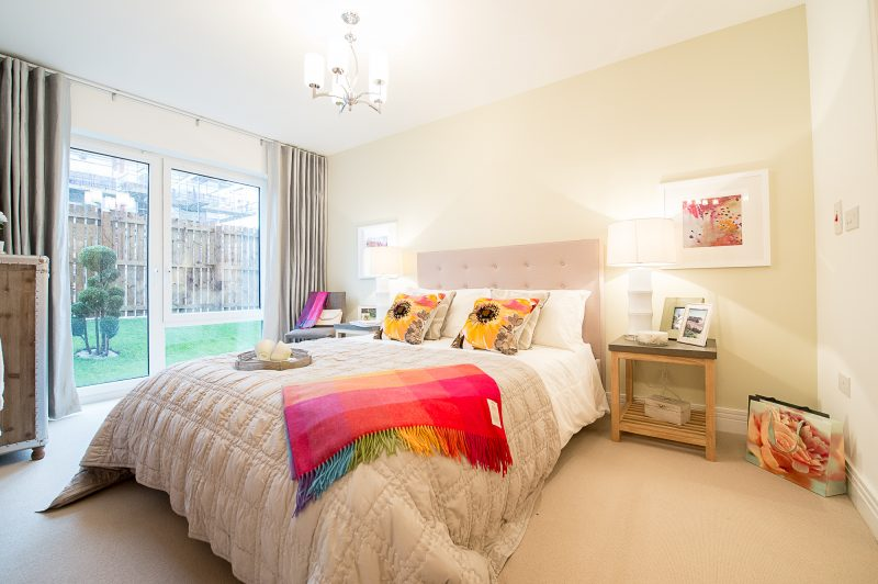 Bedroom 1 at Dalmeny Park Apartments, South Queensferry is captured by PR Photography