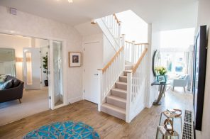 CALA Homes' Kinleith Mills Stairs as shown by PR Photgraphy