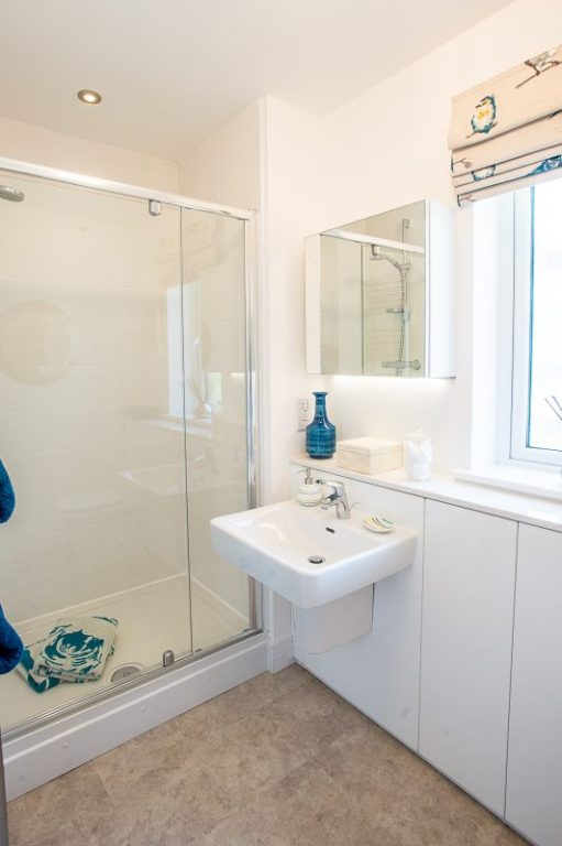 CALA Homes Kinleith Mills Bathroom as shown by PR Photgraphy