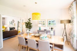 CALA Homes Kinleith Mills Dining Room as shown by PR Photgraphy