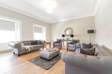 PR photography for Grant Property's interior design service in Scotland