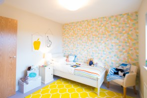 The bedroom at one of the new show homes at Liberton Braes (PR Photography: Wullie Marr)