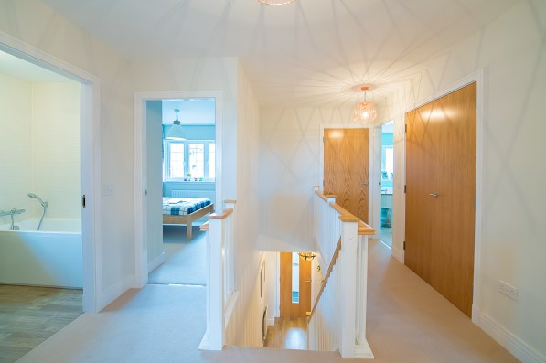 The hall at one of the new show homes at Liberton Braes (PR Photography: Wullie Marr)