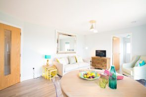 The open-plan dining/living room at one of the new show homes at Liberton Braes (PR Photography: Wullie Marr)