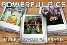 PR Photography Campaign Image showing three PR photos
