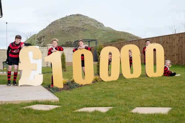 PR photography for launch of CALA Homes £10,000 community bursary