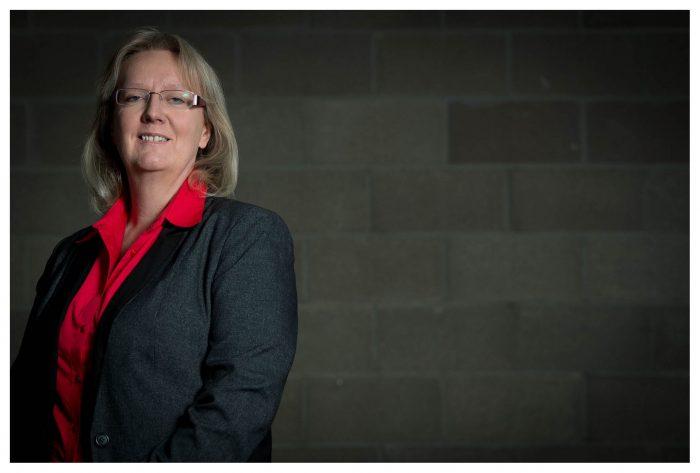 Fiona Deas poses for SME PR story