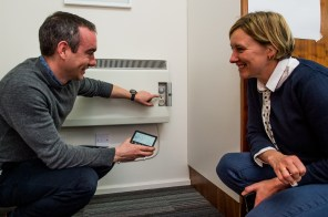 Roddy explains to Lucy how the smart meter works