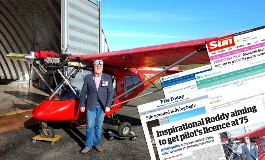 Pilot Coverage Montage from PR Edinburgh