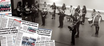 Pipe Band coverage montage from Scottish PR Agency