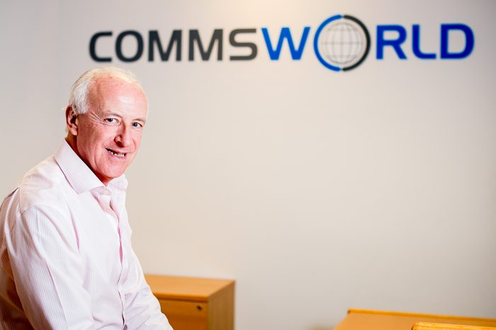 An image of Andy Arkle, Commercial Director at Commsworld as part of a Tech PR story